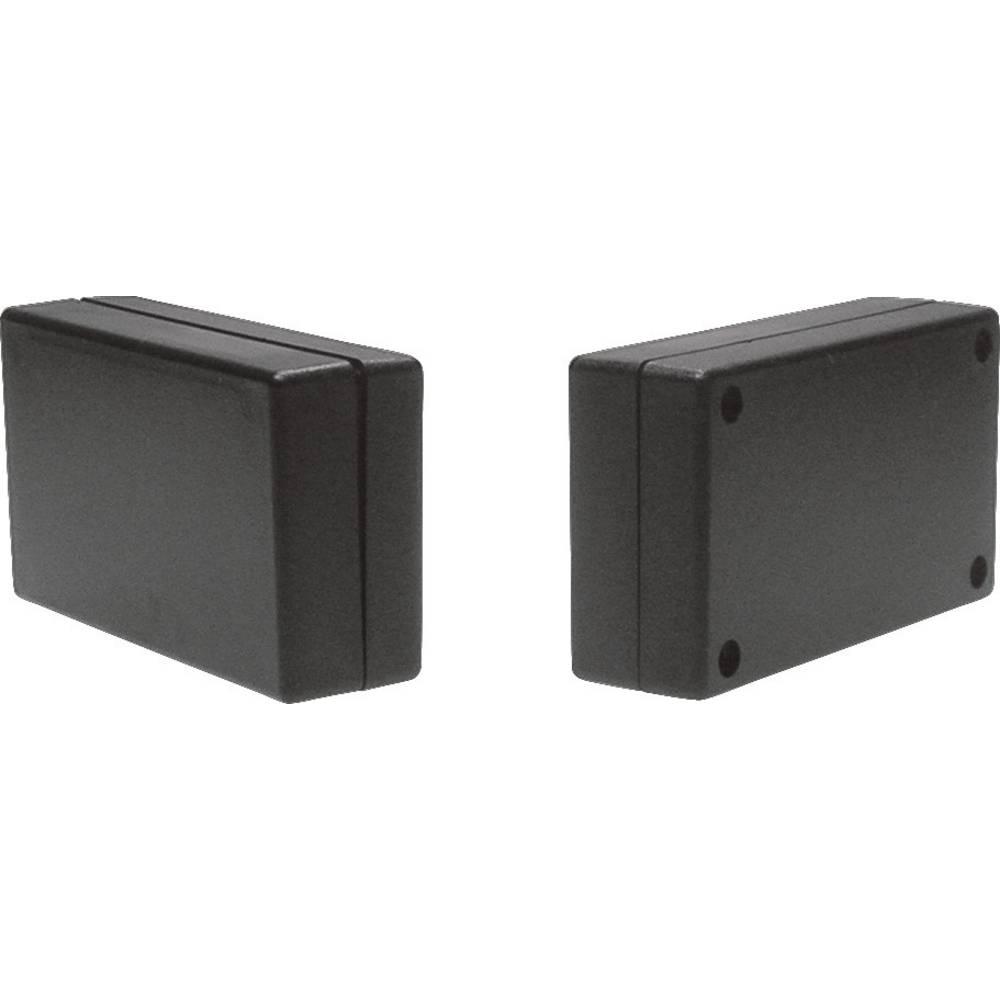 Strapubox kućište od umjetne mase 2744SW, ABS plastika, (DxŠxV) 70 x 40 x 20 mm, crna