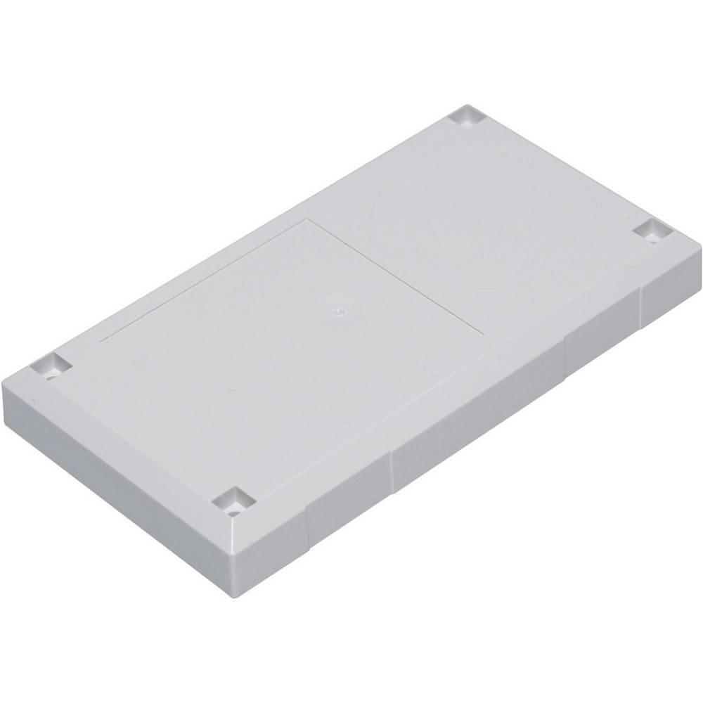 Utično kućište ESU 1200 Conrad polikarbonat, ABS svijetlosiva 125 x 67 x 50 1 kom.