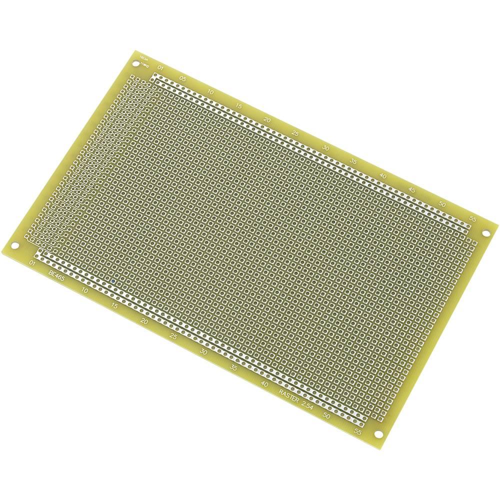 IC-printplade Epoxid (L x B) 100 mm x 160 mm 35 µm Rastermål 2.54 mm Conrad Components SU540423 Indhold 1 stk