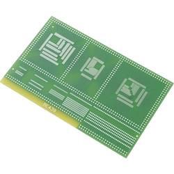 SMD-Adapter (value.1292432) Epoxid (L x B) 100 mm x 160 mm 35 µm Rastermål 0.80 mm, 0.65 mm, 0.50 mm, 0.65 mm, 0.80 mm, 1 mm, 1.