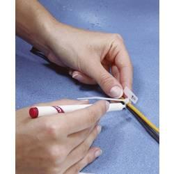 Kabelska vezica, polje za označevanje: 20 x 13 mm naravne barve TRU COMPONENTS 531367 1 kos
