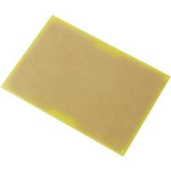 Europlatine (value.1292428) Epoxid (L x B) 233.4 mm x 160 mm 35 µm Rastermål 2.54 mm Conrad Components SU527998 Indhold 1 stk