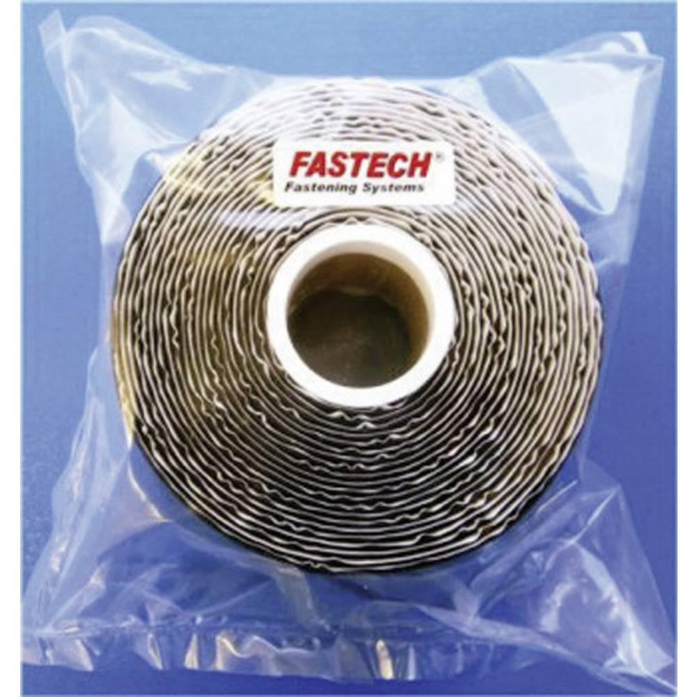 Samolepilni sprijemalni trak Fastech 730-330-5, izjemno močan, v vrečki, 5 m x 5 cm, črn