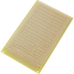 IC tiskano vezje, epoksid (D x Š) 160 mm x 100 mm 35 µm raster 2.54 mm TRU Components SU527831 vsebina: 1 kos