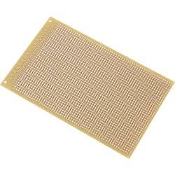 Plošča za tiskano vezje, trdi papir (D x Š) 160 mm x 100 mm 35 µm raster 2.54 mm TRU Components SU527466 vsebina: 1 kos