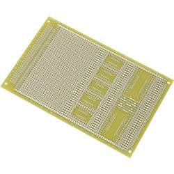 SMD-Europlatine (value.1292431) Epoxid (L x B) 160 mm x 100 mm 35 µm Rastermål 2.54 mm Conrad Components SU527858 Indhold 1 stk