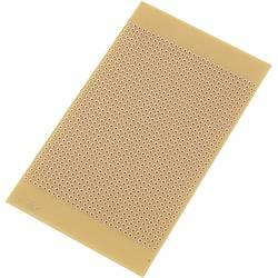 Eksperimentalna pločica, tvrdi papir (D x Š) 125 mm x 73 mm 35 µm mjere rastera 2.54 mm Conrad Components SU527696 sadrža