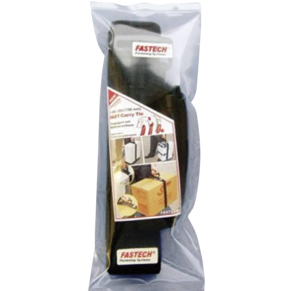 Sprijemalni nosilni trak Fastech 923-330-Bag, (D x Š) 1700 mm x 50 mm, črne barve, 1 kos