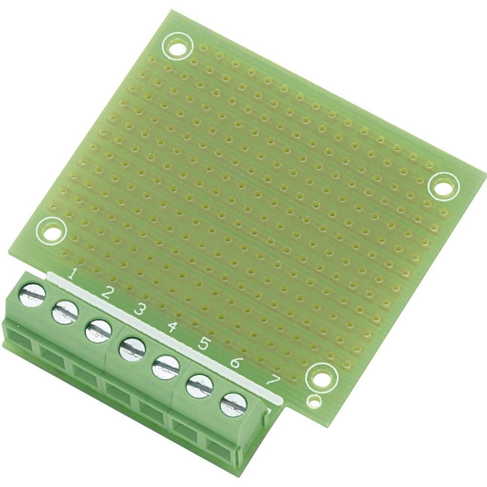 Experimentierplatine (value.1292427) Epoxid (L x B) 53.8 mm x 49.9 mm Rastermål 2.54 mm Conrad Components SU529016 Indhold 1 stk