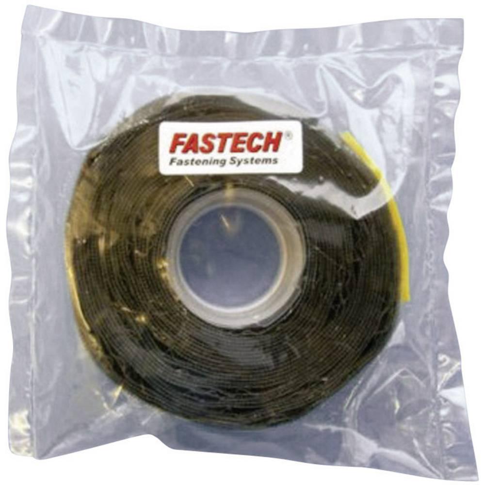 Samolepilni mikro sprijemalnitrak Fastech T0502599990305, sprijem. del: 5 m x 25 mm, črn
