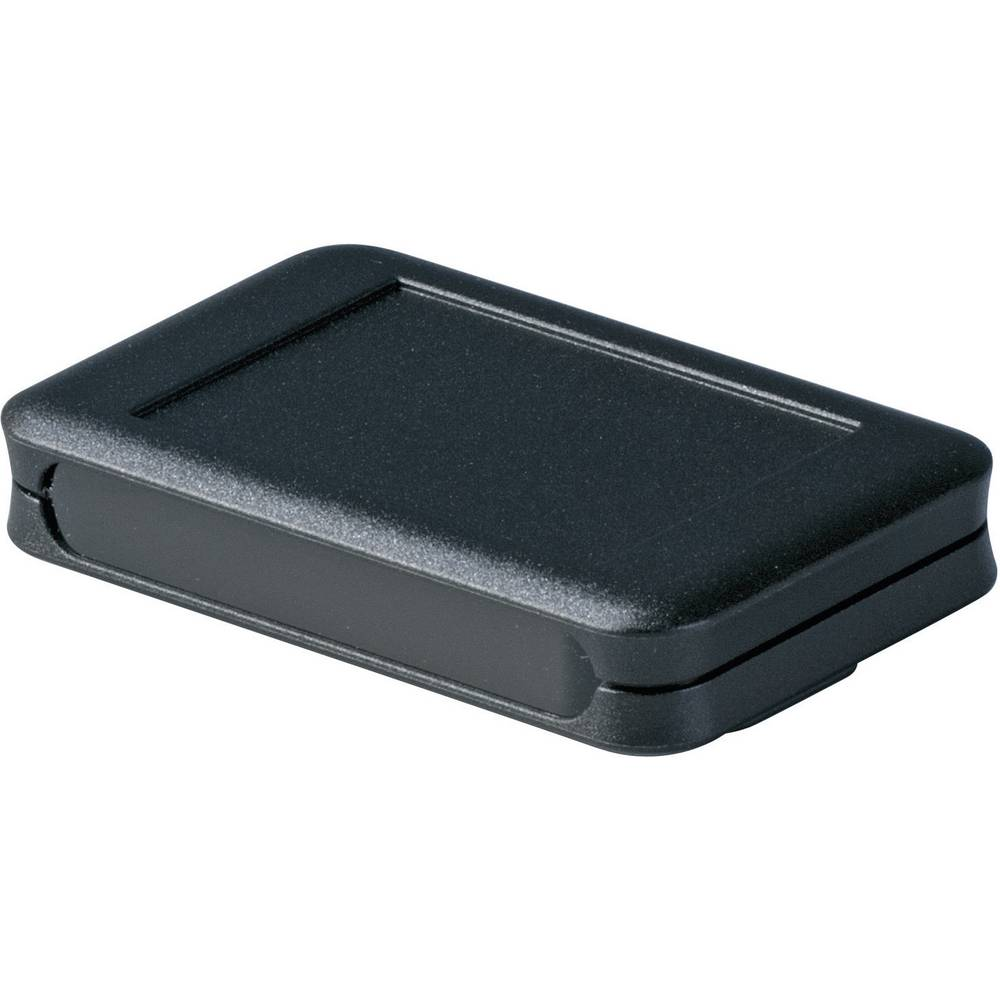 OKW D9051459-Zidno/stolno kućište, akrilno staklo, crno, 65x105x19mm