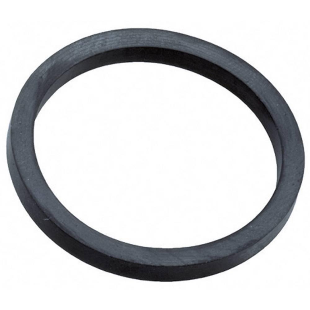 Tesnilni obroč M16 etilen propilen dien-kavčuk črne barve (RAL 9005) Wiska EADR 16 1 kos