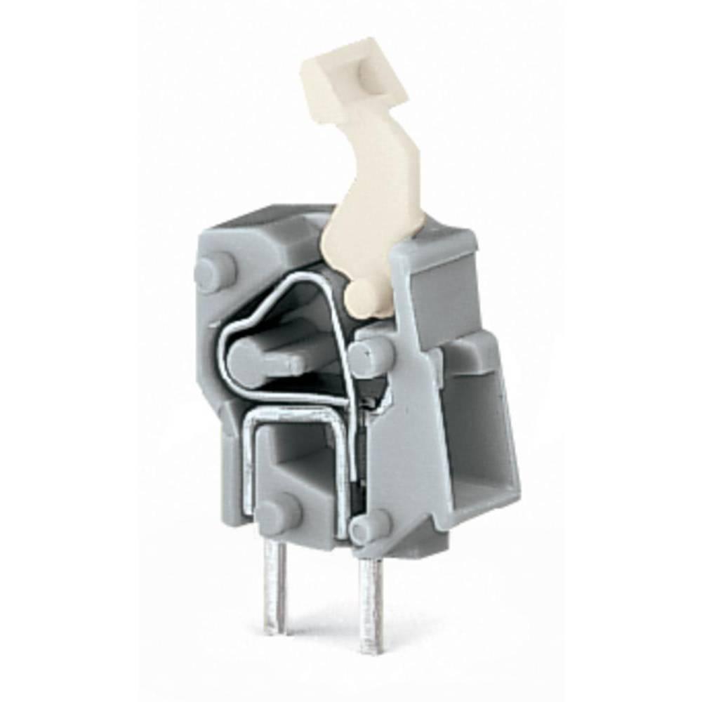 Fjederkraftsklemmeblok WAGO 2.50 mm² Poltal 1 Blå 500 stk