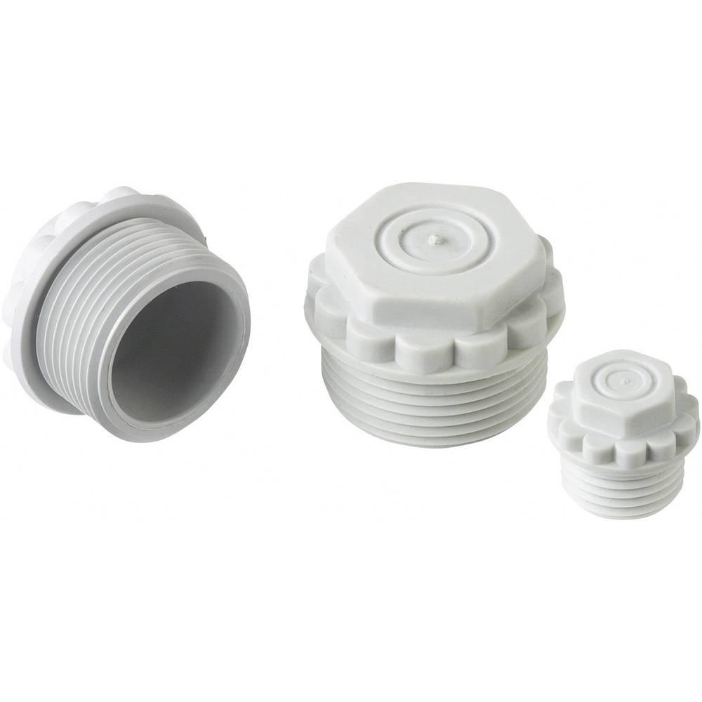 Vijak za zatvaranje s propusnom membranom M16 polistirol (EPS) svijetlo sive boje (RAL 7035) LappKabel SKINDICHT® M16 1 kom.