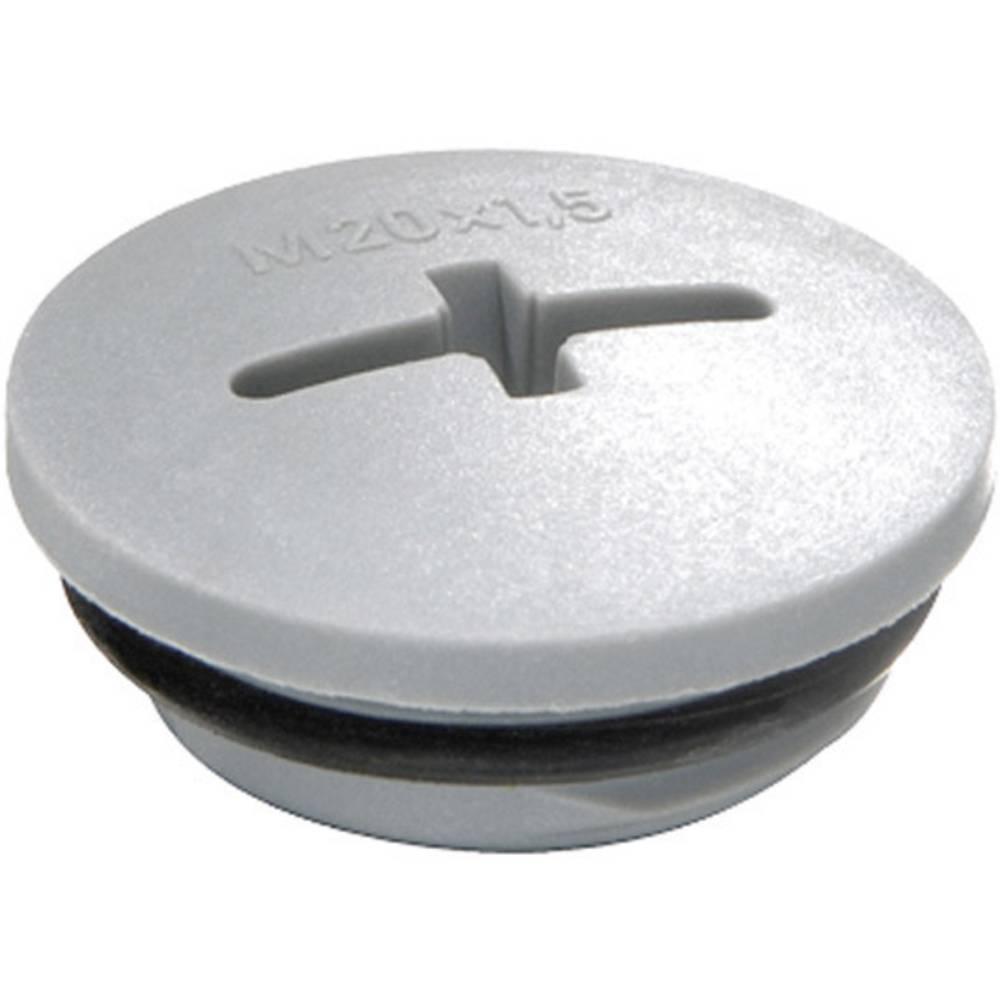 Blindprop Wiska 10064653 Polyamid Sølvgrå (RAL 7001) 1 stk