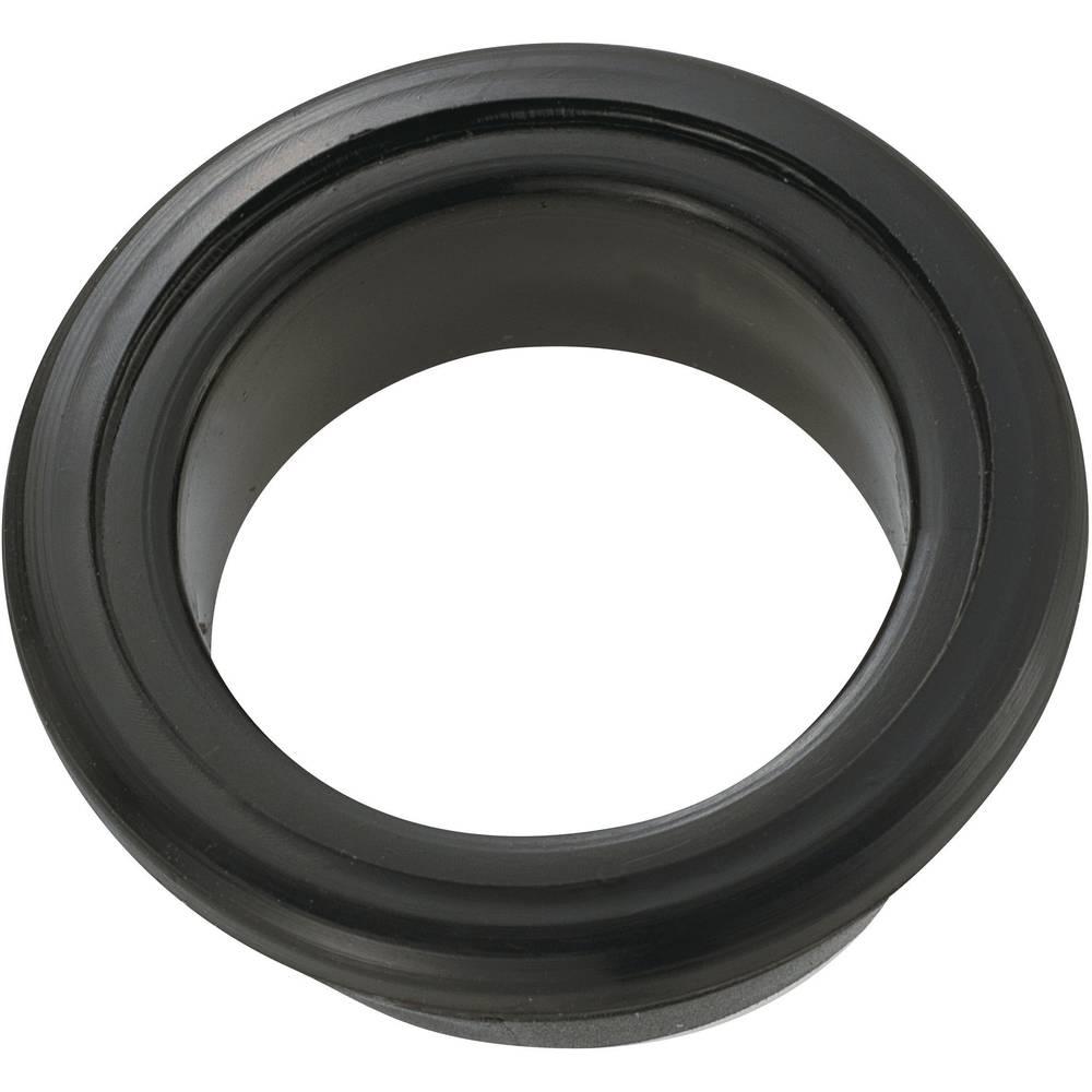 Kabelska čahura, otvorena, promjer sponke (maks.) 15.5 mm PVC crne boje KSS GEQR-2015 1 kom