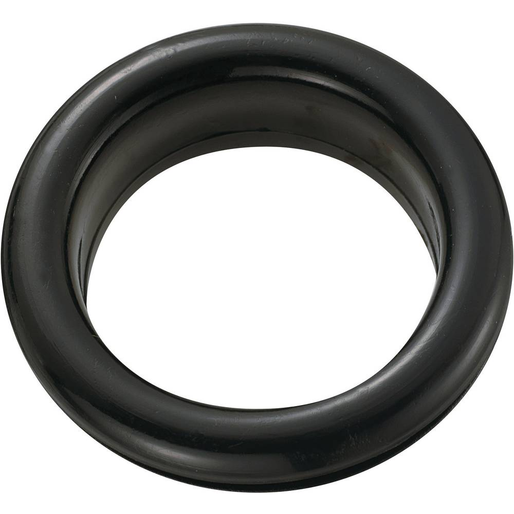 Kabelski tulec, odprt premer sponke (maks.) 20.8 mm PVC črne barve KSS GEQR-2621 1 kos