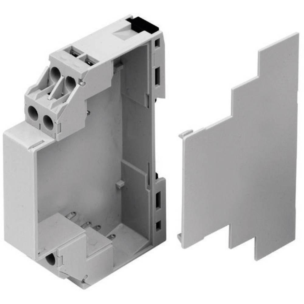 DIN-skinnekabinet Axxatronic CMEB-CON 90 x 17.5 x 58 Polycarbonat 1 stk