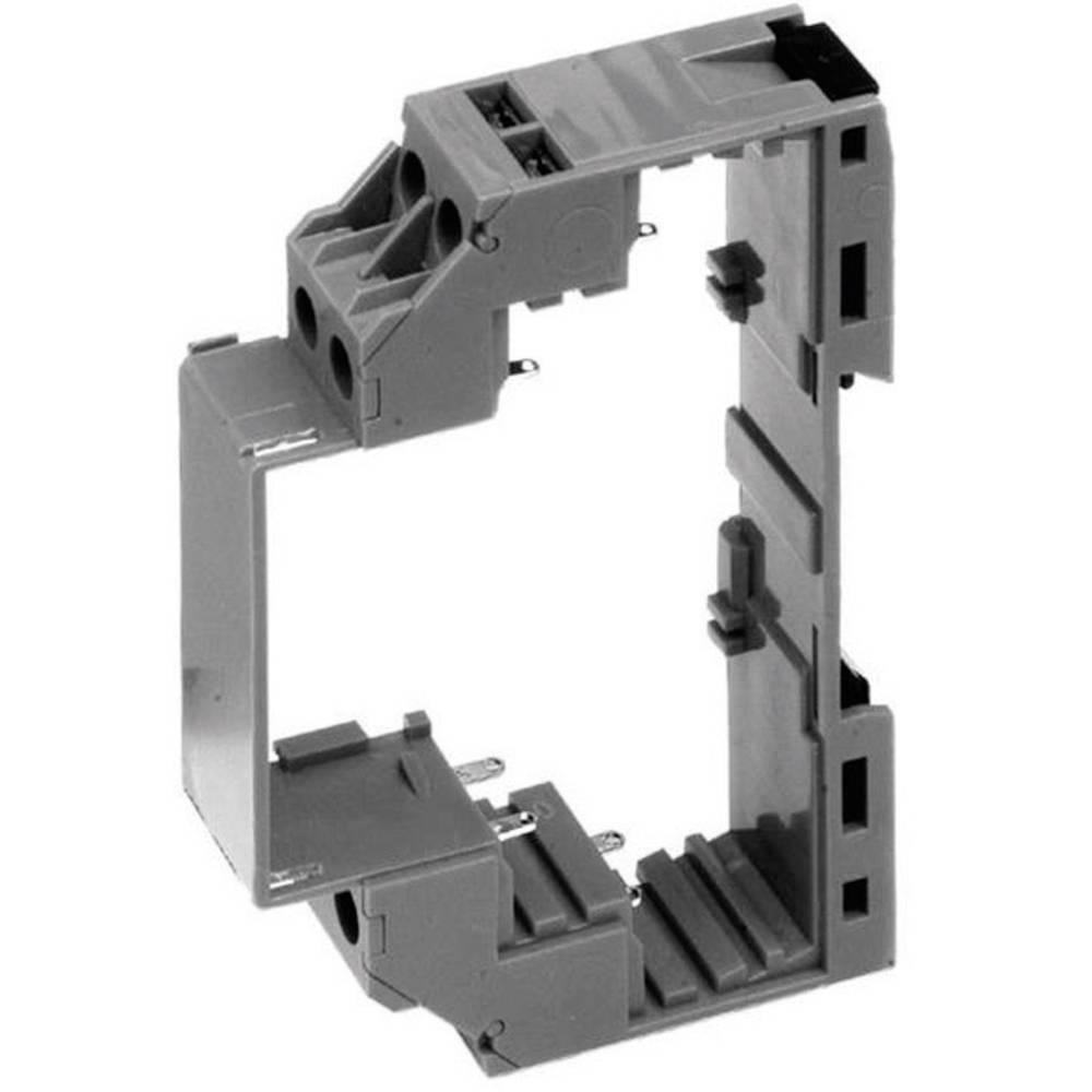 DIN-skinnekabinet Axxatronic CMEB-E-CON 90 x 17.5 x 58 Polycarbonat 1 stk