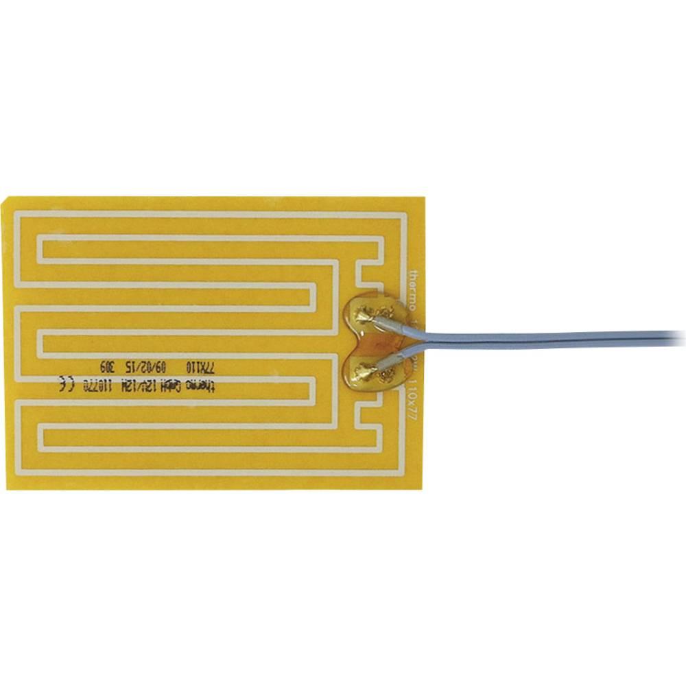 Samolepilna ogrevalna folija 12 V/DC, 12 V/AC 12 W vrsta zaščite IPX4 (D x Š) 110 mm x 77 mm Thermo