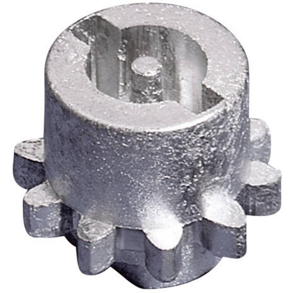 Rittal 8611160-Metalni uložak za dvobradu bravu, siv