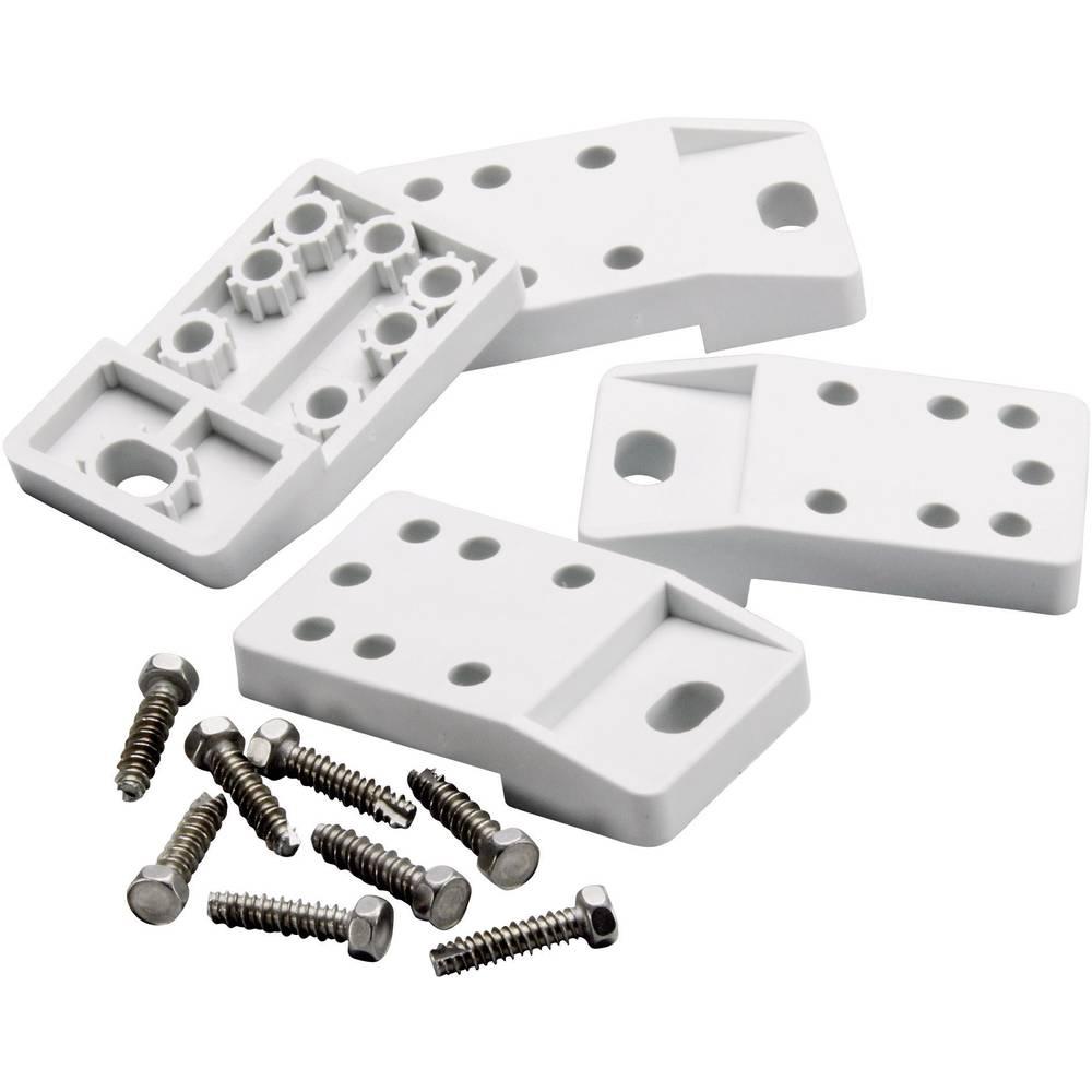 Fibox-Spona za zidno pričvrščenje TF CAB, poliamid, 4 komada, za CAB P302017, CAB P403017 8280003