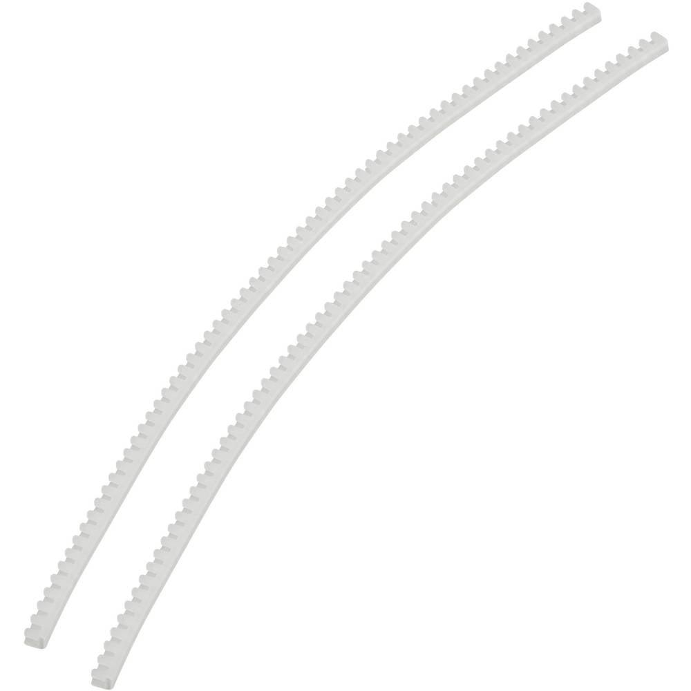 Kantbeskyttelse KSS KG008 533673 Transparent (L x B x H) 10 m x 3.3 mm x 3.7 mm 1 PAK