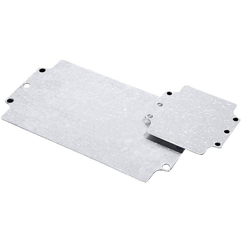 Rittal-Montažna ploča 9108.700, 109x107mm, pocinčani čelik, za GA-kućište 9108.21