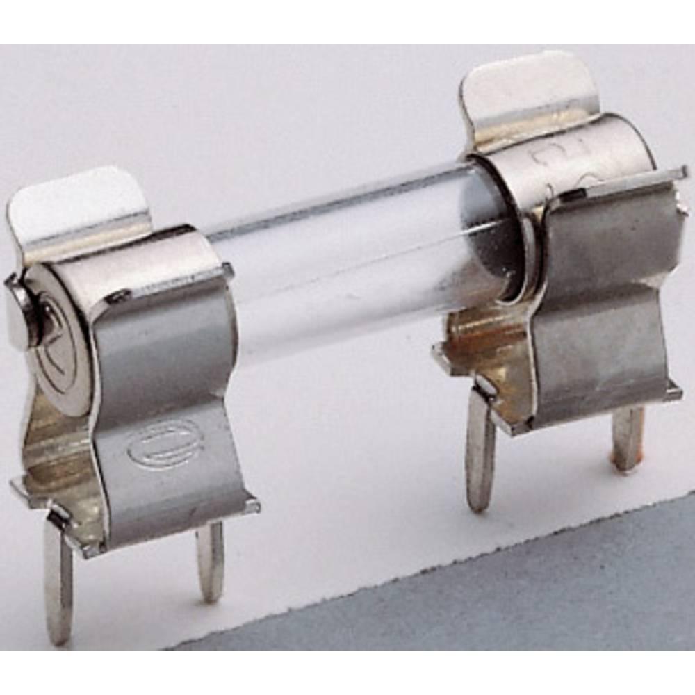 Prijemne vzmeti, izdelek primeren za mini varovalko 5 x 20 mm 6.3 A 250 V/AC ESKA 120.800H 1 kos