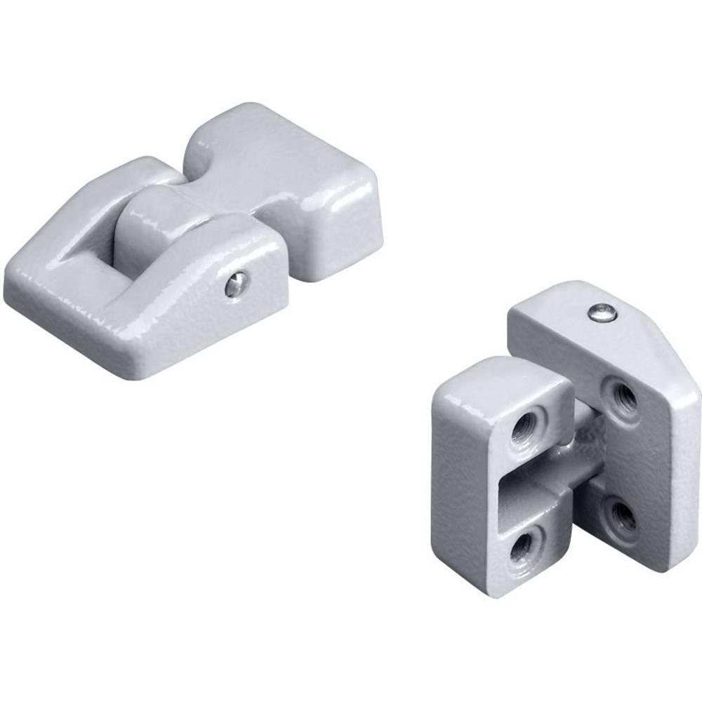 Rittal-Vanjska šarka GA 9123.000, aluminijska tlačna litina, siva (RAL 7001), GA-kućište