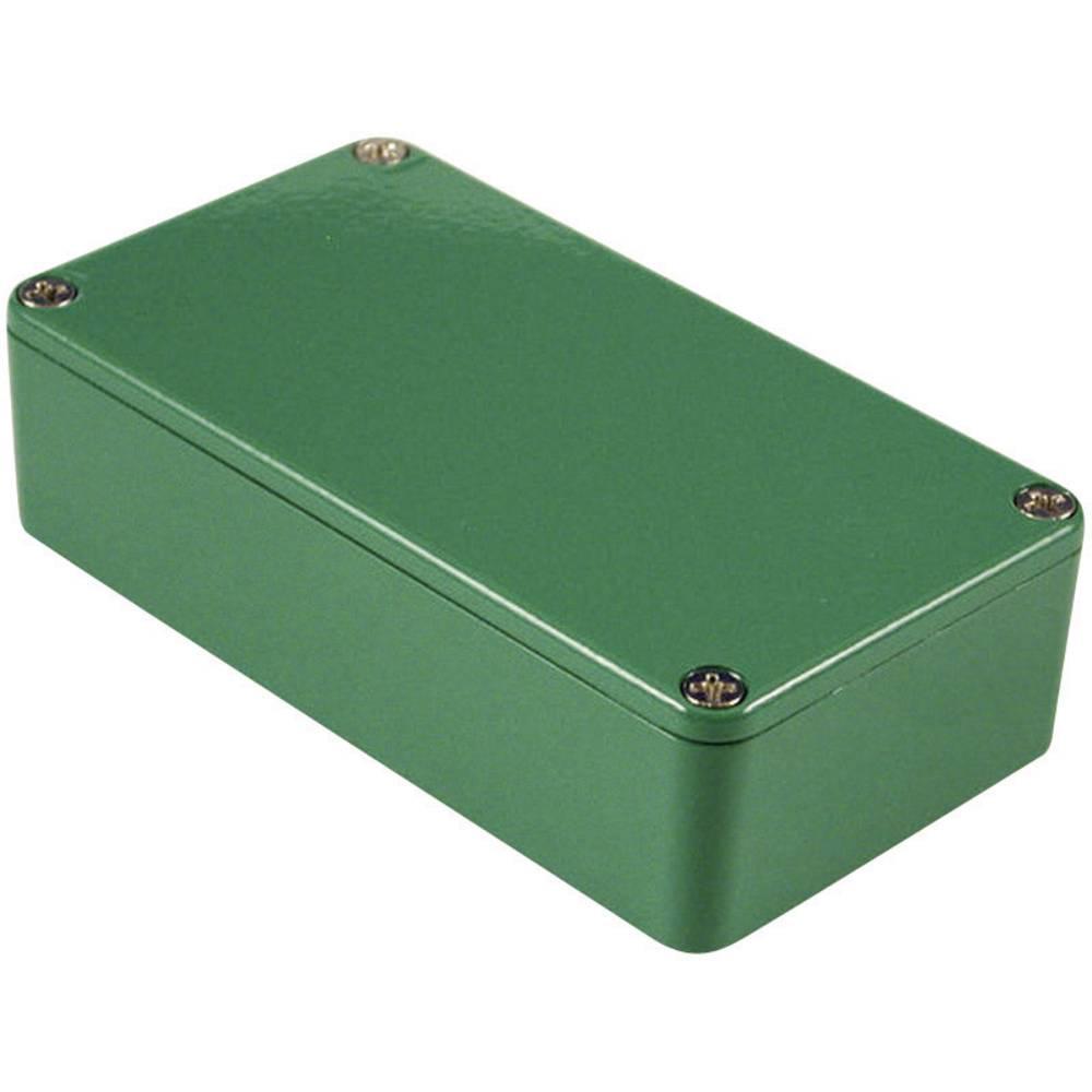 Hammond Electronics 1590BBGR-Univerzalno kućište, aluminij, zeleno, 118.5x93.5x34mm