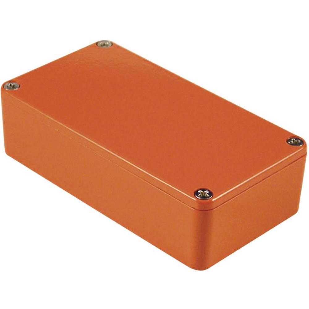 Hammond Electronics 1590BBOR-Univerzalno kućište, aluminij, narančasto, 118.5x93.5x34mm