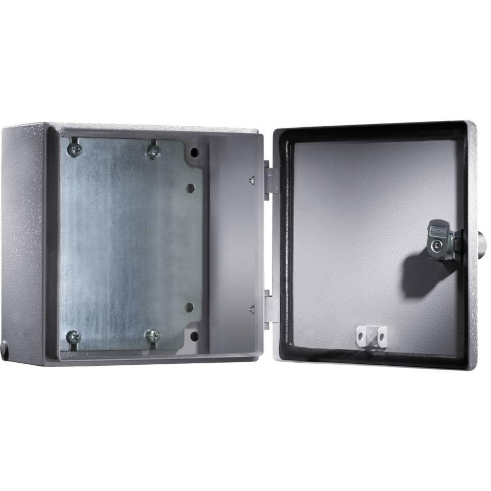 Rittal 1549.500-Instalacijsko kućište, čelični lim, svijetlo sivo, (RAL 7035) 200x200x120mm