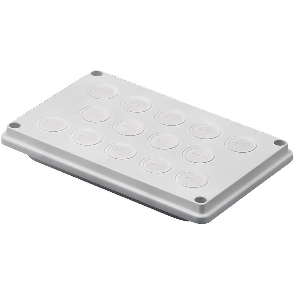 Kabelska uvodna plošča, izolirni materijal sive barve (RAL 7032) Rittal SV 9665750 1 kos