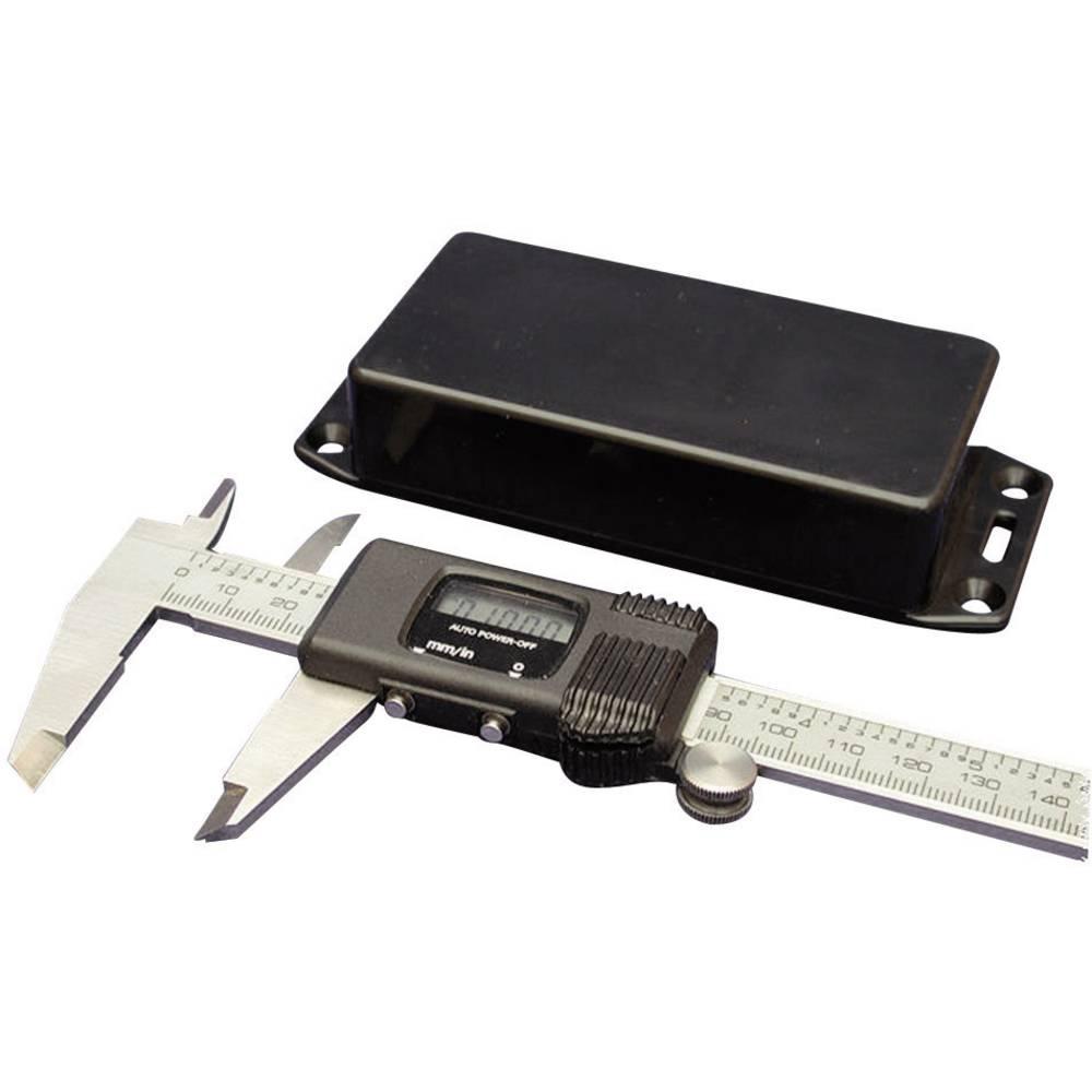 Universalkabinet 85 x 56 x 39 ABS Sort Hammond Electronics 1591LSFLBK 1 stk
