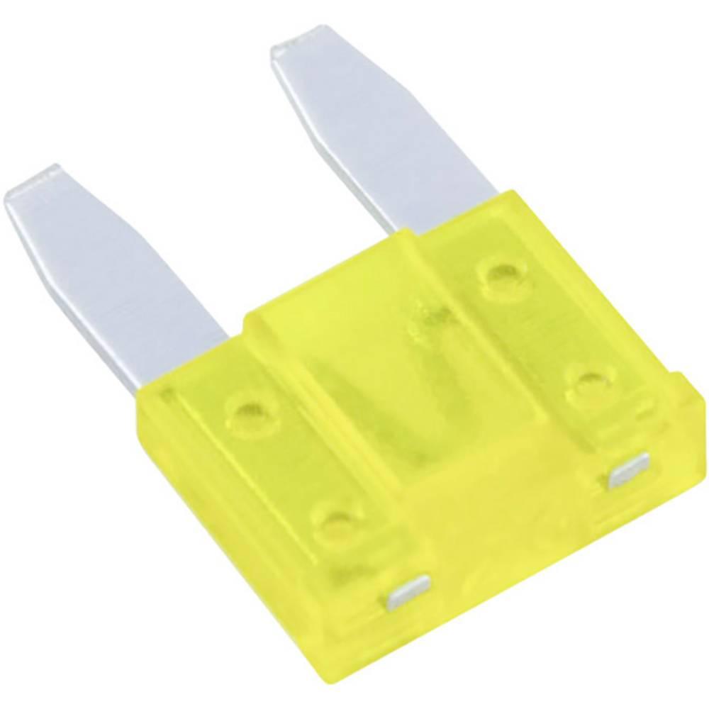 Avtomobilska mini ploščata varovalka za avto/industrijo, rumena 32 V