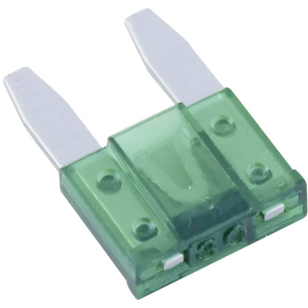 Avtomobilska mini ploščata varovalka za avto/industrijo, zelena 32 V
