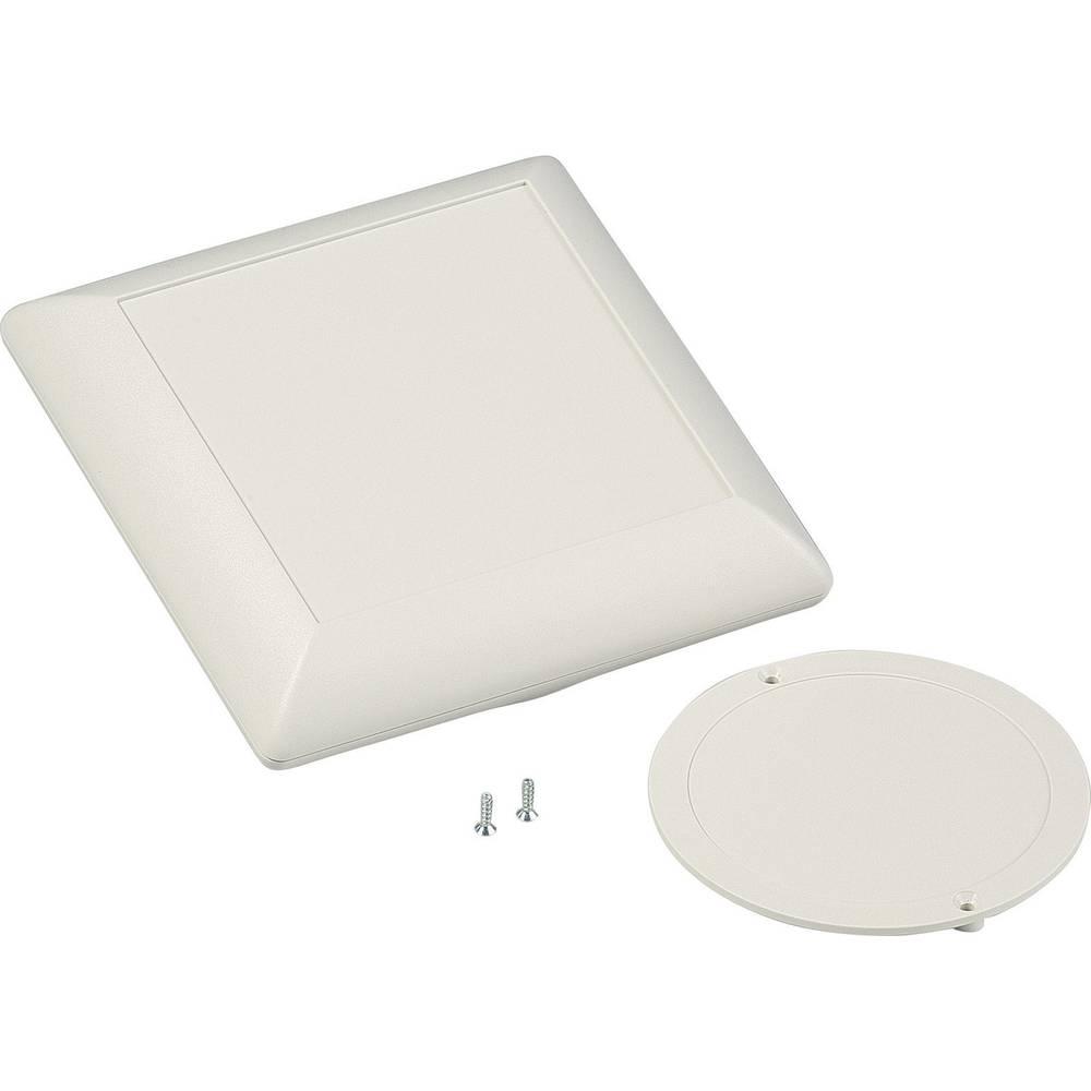Pult-kabinet OKW Art-Case D5012247 110 x 110 x 39 ABS Gråhvid (RAL 9002) 1 Set