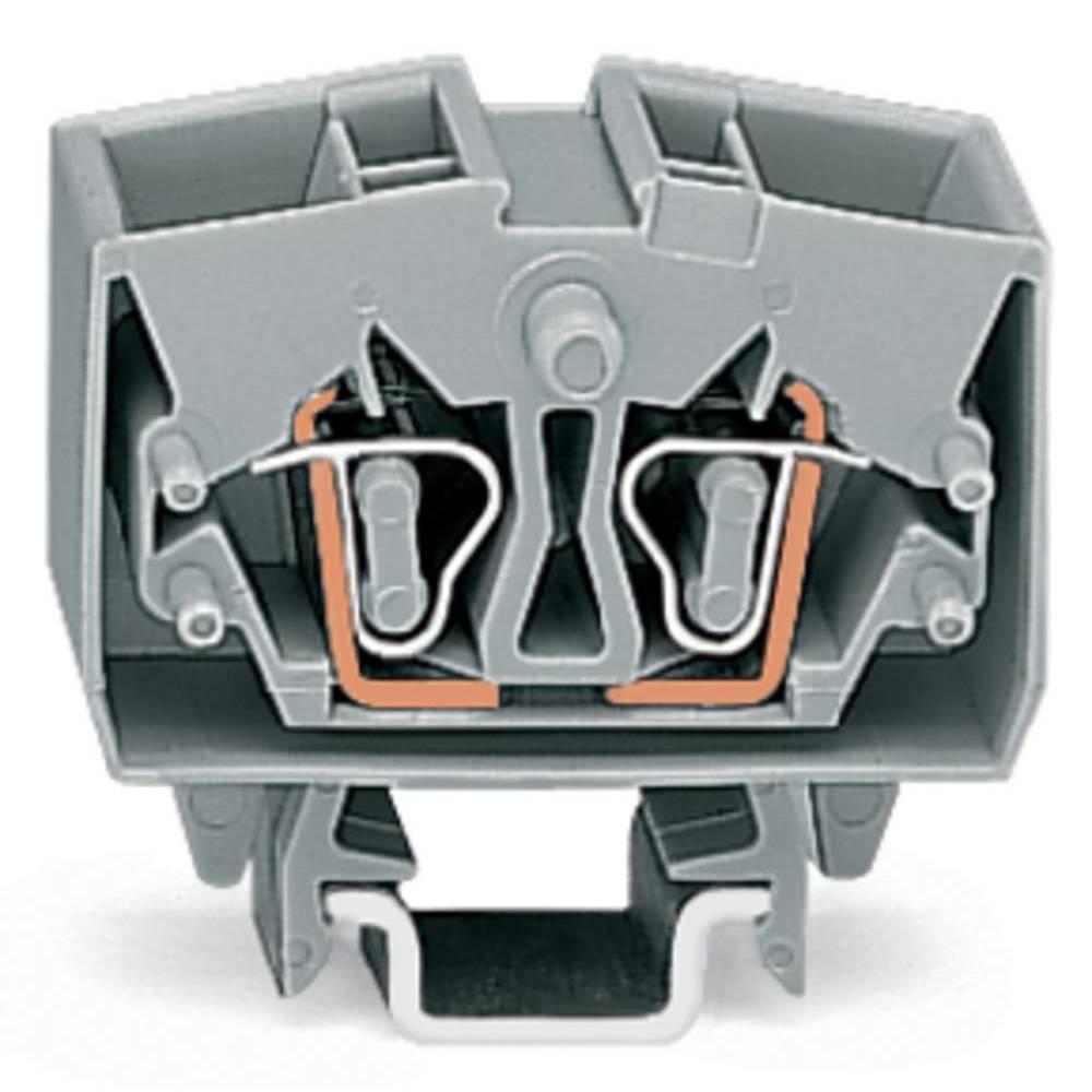 Gennemgangsklemme 10 mm Trækfjeder Orange WAGO 264-726 100 stk