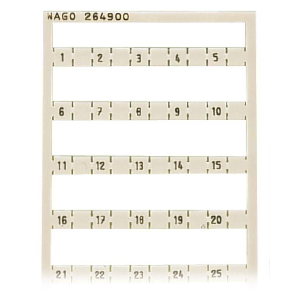 Miniature WSB Quick mærkningssystem WAGO 5 stk