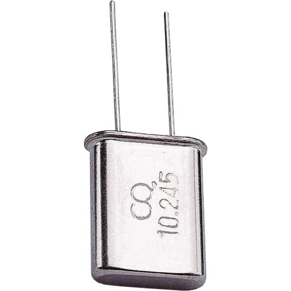 Kvarčni kristal TRU Components 168700 HC-49/U 10.24 MHz 32 pF (D x Š x V) 4.7 x 11.1 x 13.46 mm