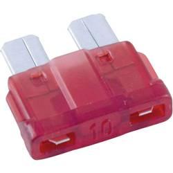 Avtomobilska standardna ploščata varovalka Conrad za avto/industrijo, rdeča, vtična, 32V, 10A