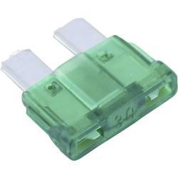 Avtomobilska standardna ploščata varovalka Conrad za avto/industrijo, zelena, vtična, 32V, 30A
