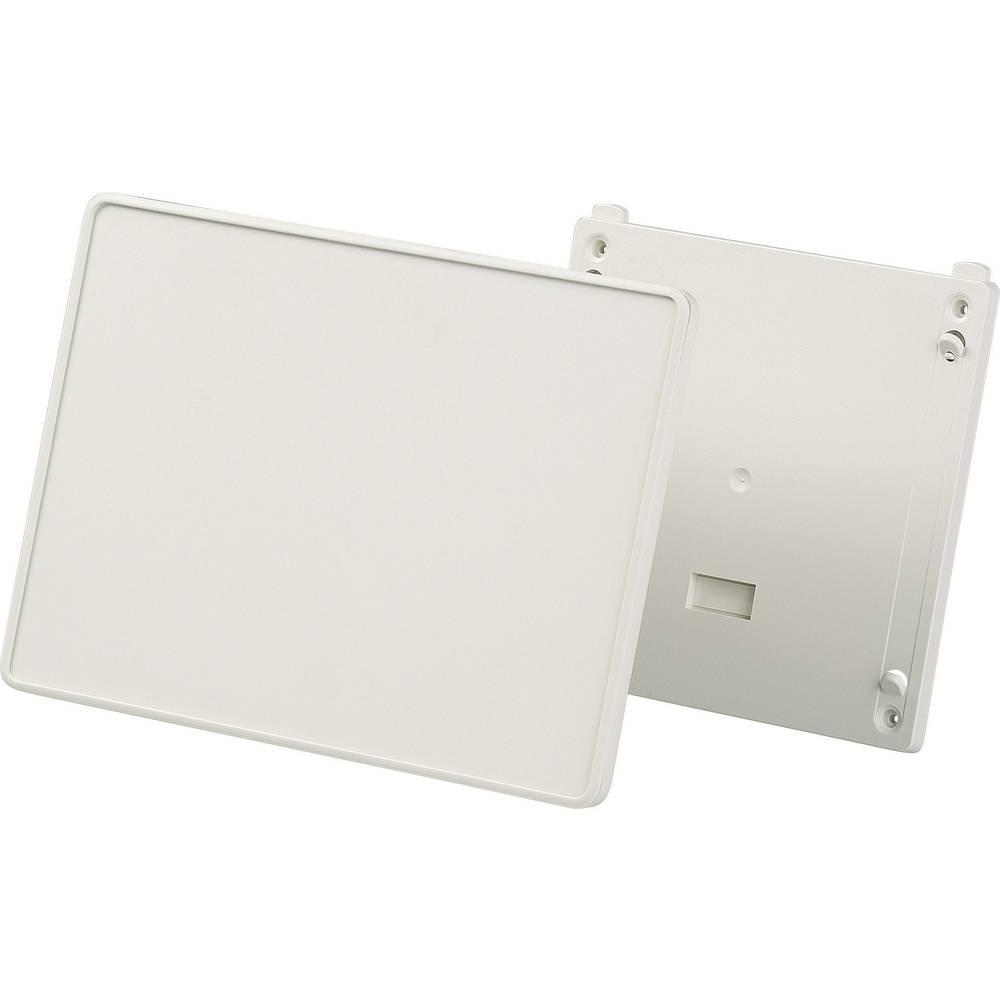 OKW D4044127-Konzolno kućište, umjetna masa, sivo/bijelo (RAL 9002), 166x225x37mm, komplet