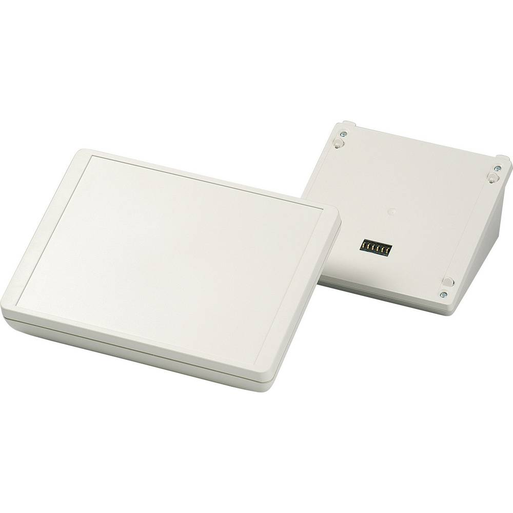 OKW D4044167-Konzolno kućište, umjetna masa, sivo/bijelo (RAL 9002), 166x225x113mm, komplet