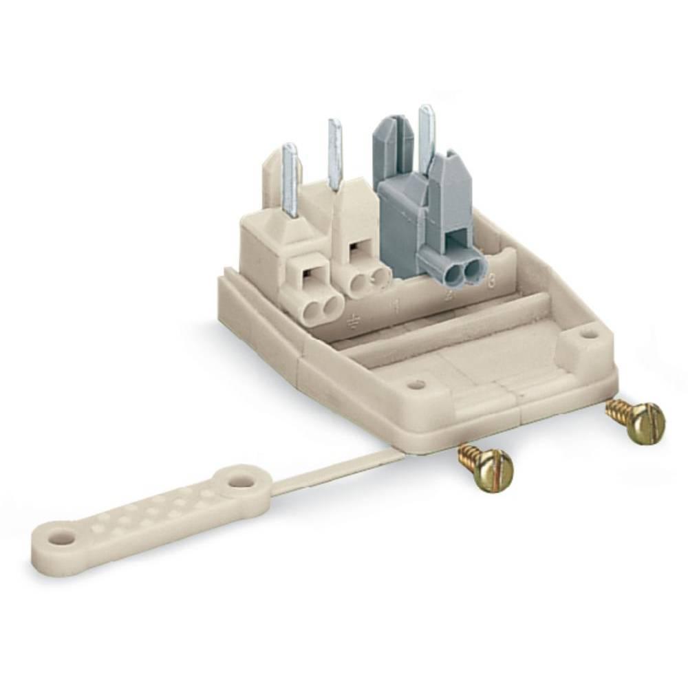 Povezovalna sponka, toga: 0.5-1 mm št. polov: 3 WAGO 277-126 250 kos bela