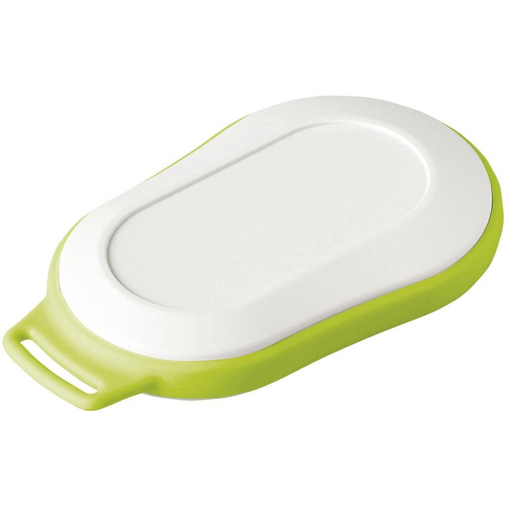 OKW Minitec D9006227-Ručno kućište, 84x53x19mm, bijelo-zeleno, komplet