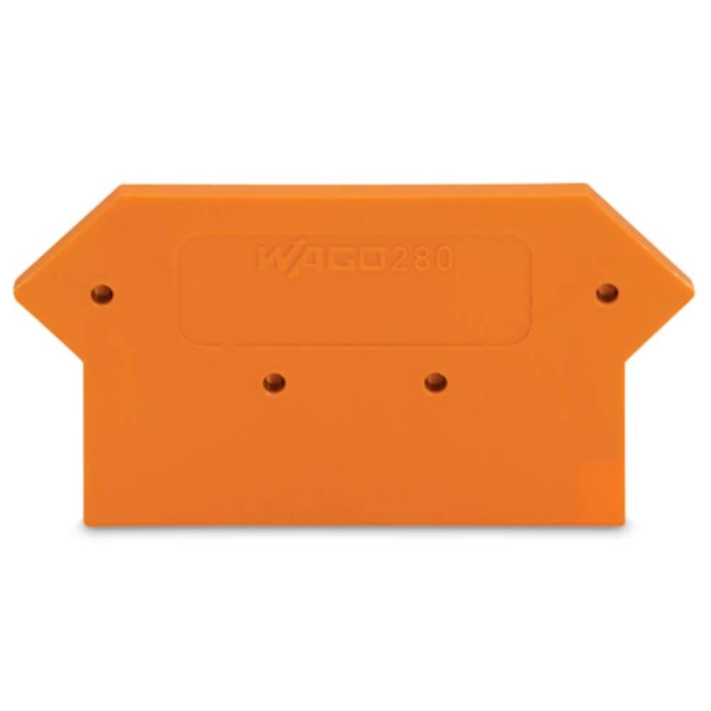End og mellemliggende plade WAGO 100 stk