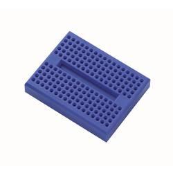 Preizkusna ploščica, modre barve, skupno št. polov: 170 (D x Š x V) 45.72 x 35.56 x 9.40 mm TRU COMPONENTS 1 kos