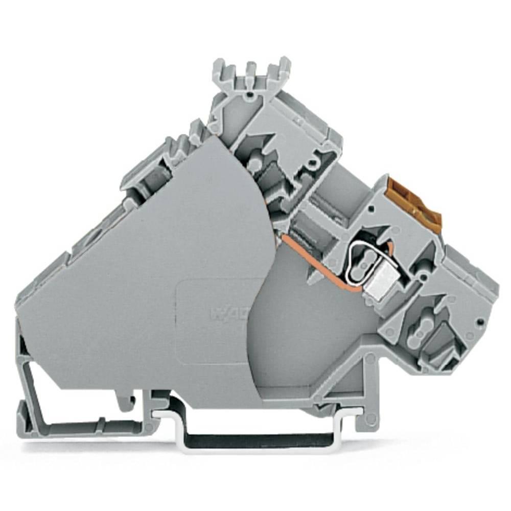 Aktorklemme 6 mm Trækfjeder Belægning: L Grå WAGO 280-556 20 stk